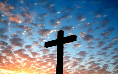 Stand at the cross and hear God's voice.