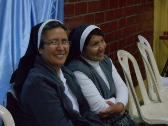 Sister Rosalinda (Country Leader of Peru) and Sister Teresa